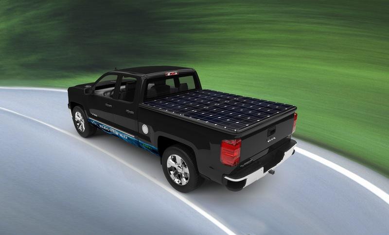 VIA Motors Unveils Solar Powered Truck - autoevolution