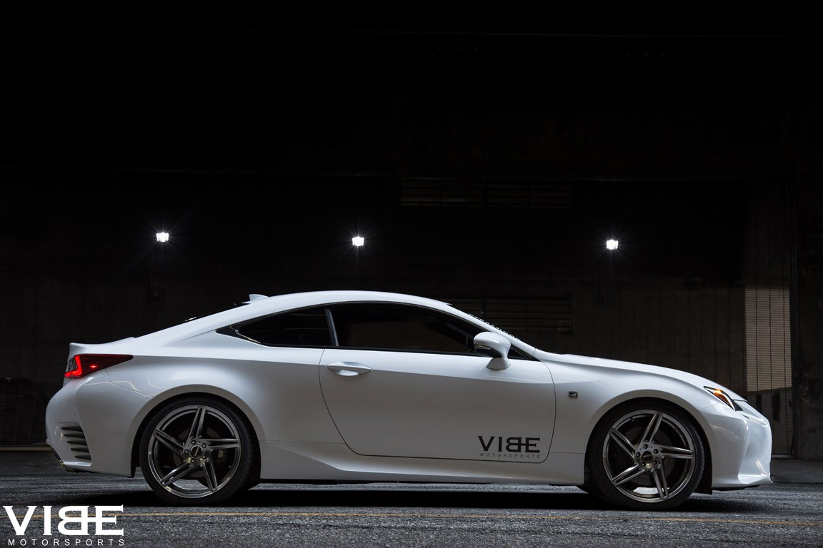 Vibe Motorsports Has A Pair Of Rims For The Lexus RC350 F