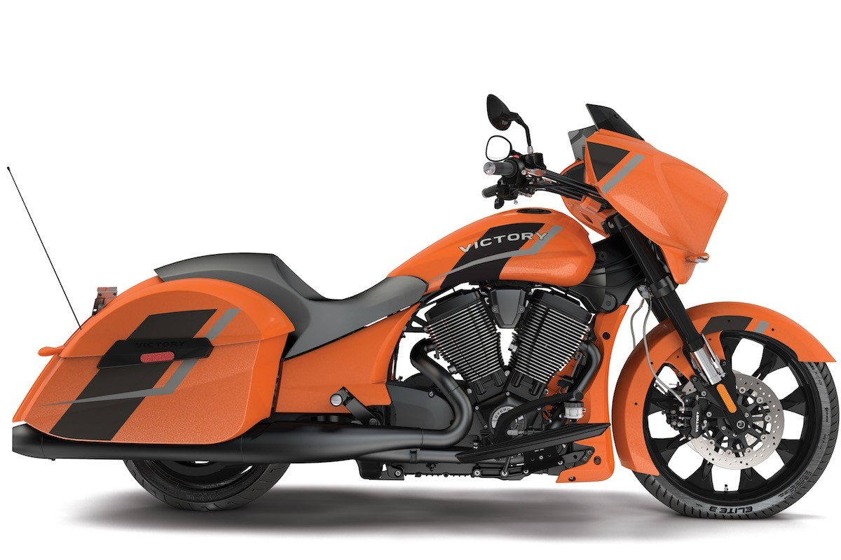 Suzuki Motorcycles Orange