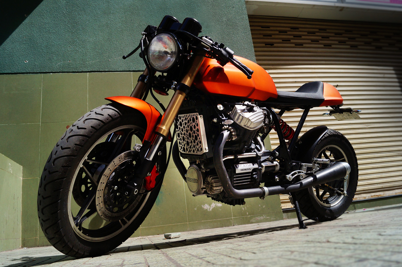Vietnam S Premiere Cafe Racer Is A Honda With Ducati Looks
