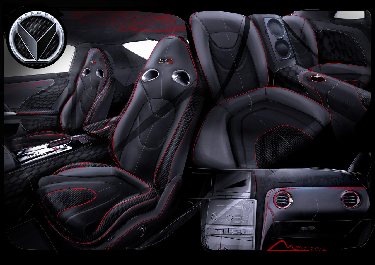 Vilner Gives Nissan GT-R Dragon Power - autoevolution