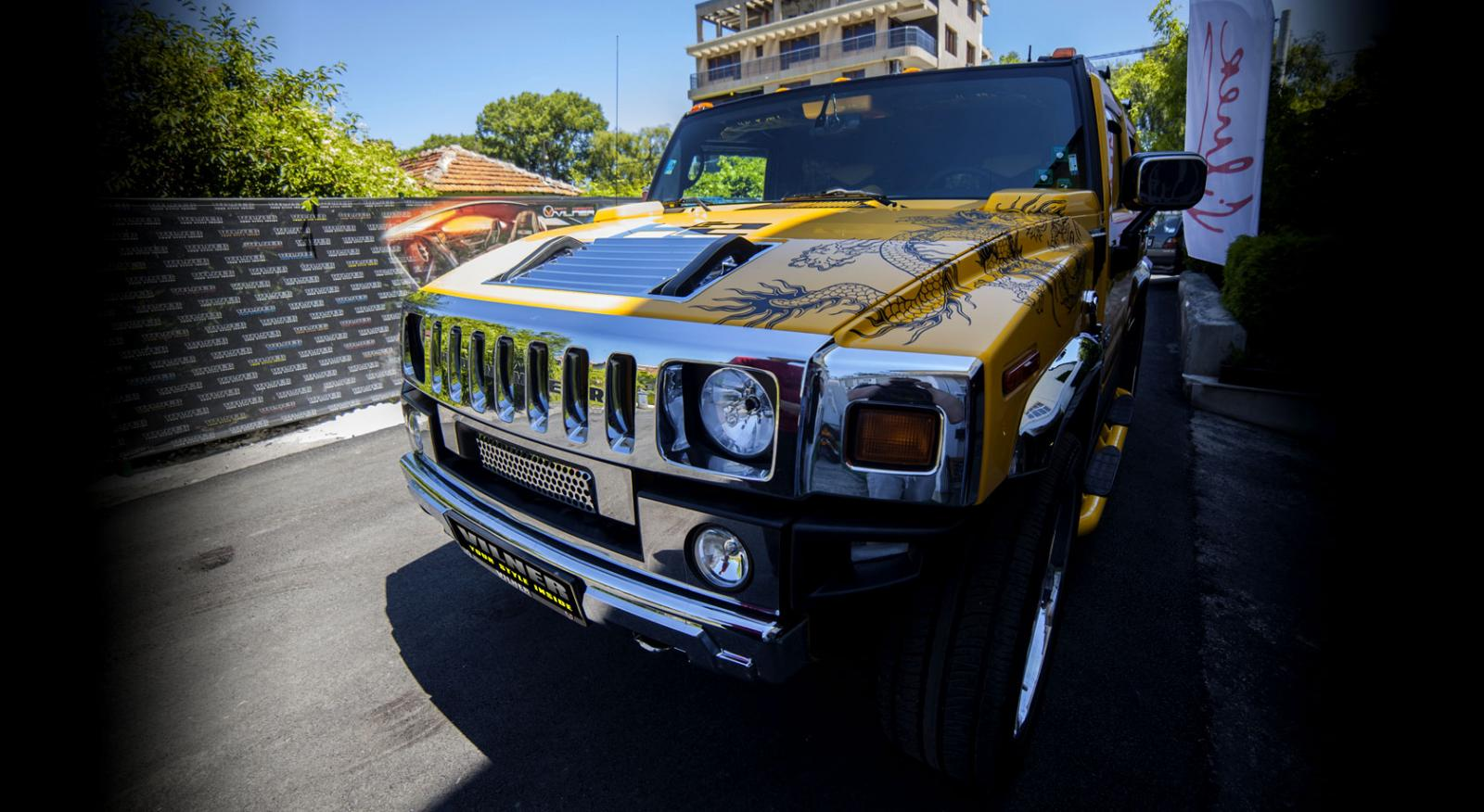 Vilner Hummer H2 Overkilled With Chinese Dragon Tuning