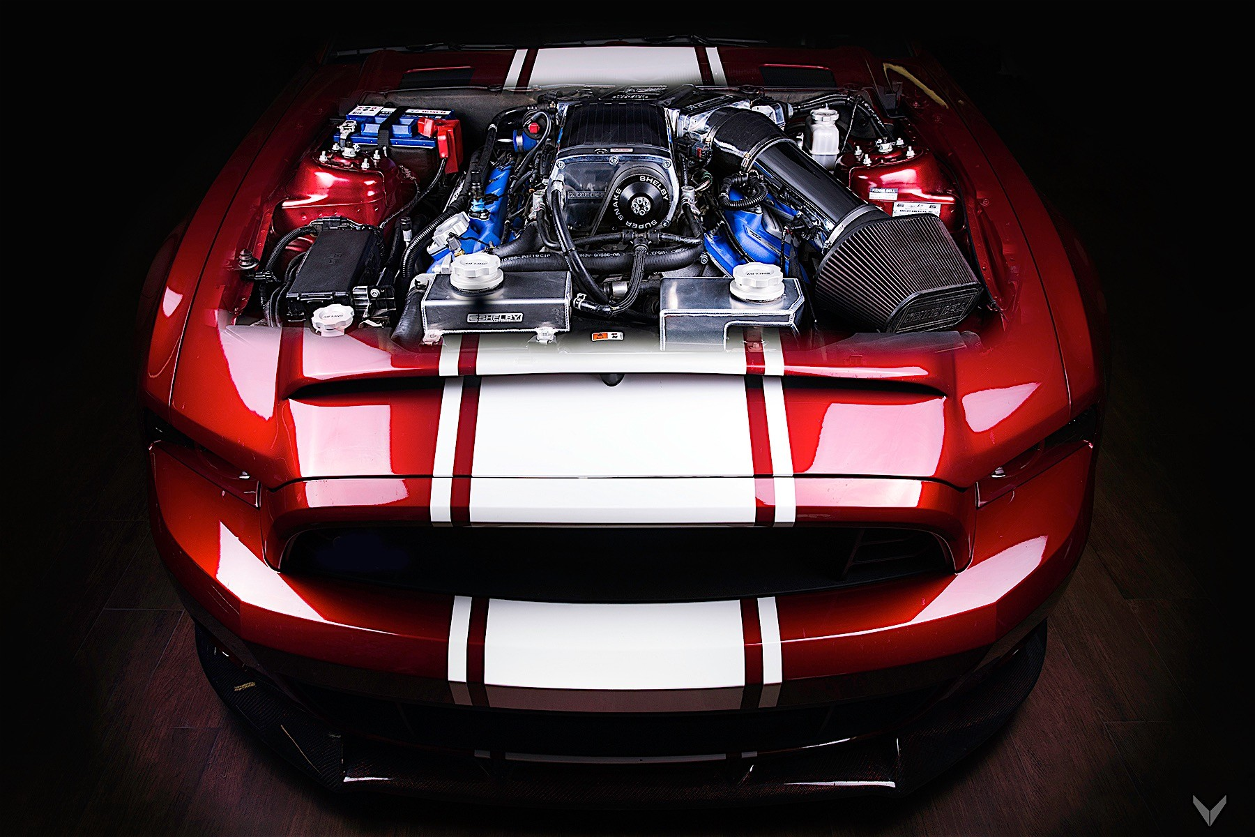Mustang Super Snake >> Watch a Classic Mustang Being Reborn in the High Tech Era ...