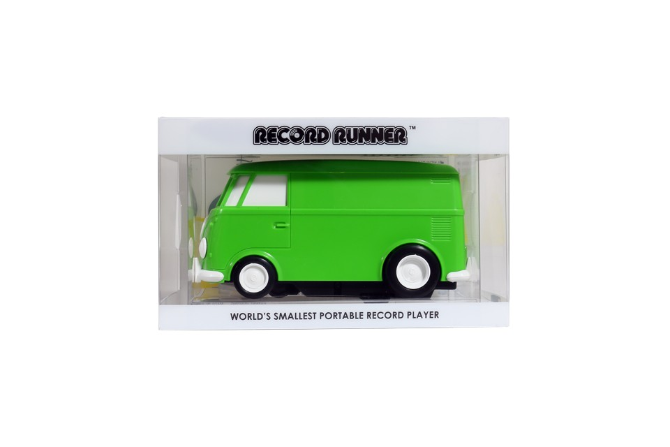Vinyl Record Player Shaped Like A Vw Van Claims To Be The