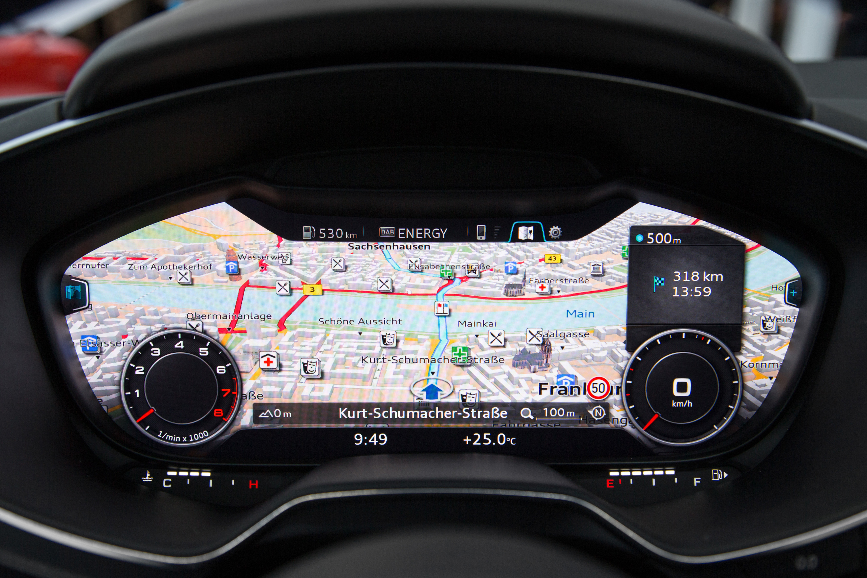 Virtual Cockpit in New Audi TT Changes The World of Connectivity ... | {Auto cockpit 52}