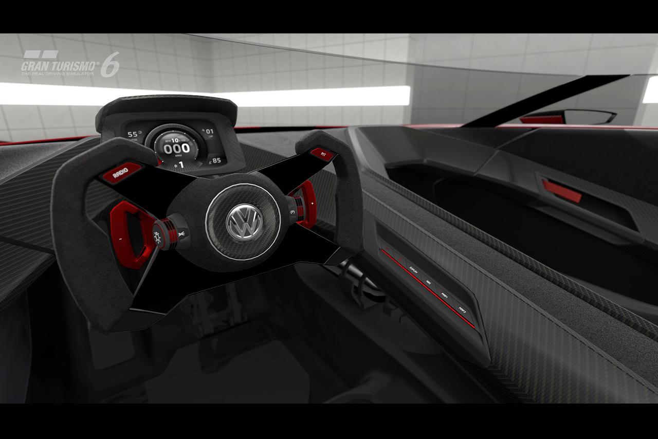 Фото салона Volkswagen GTI Roadster Vision Gran Turismo