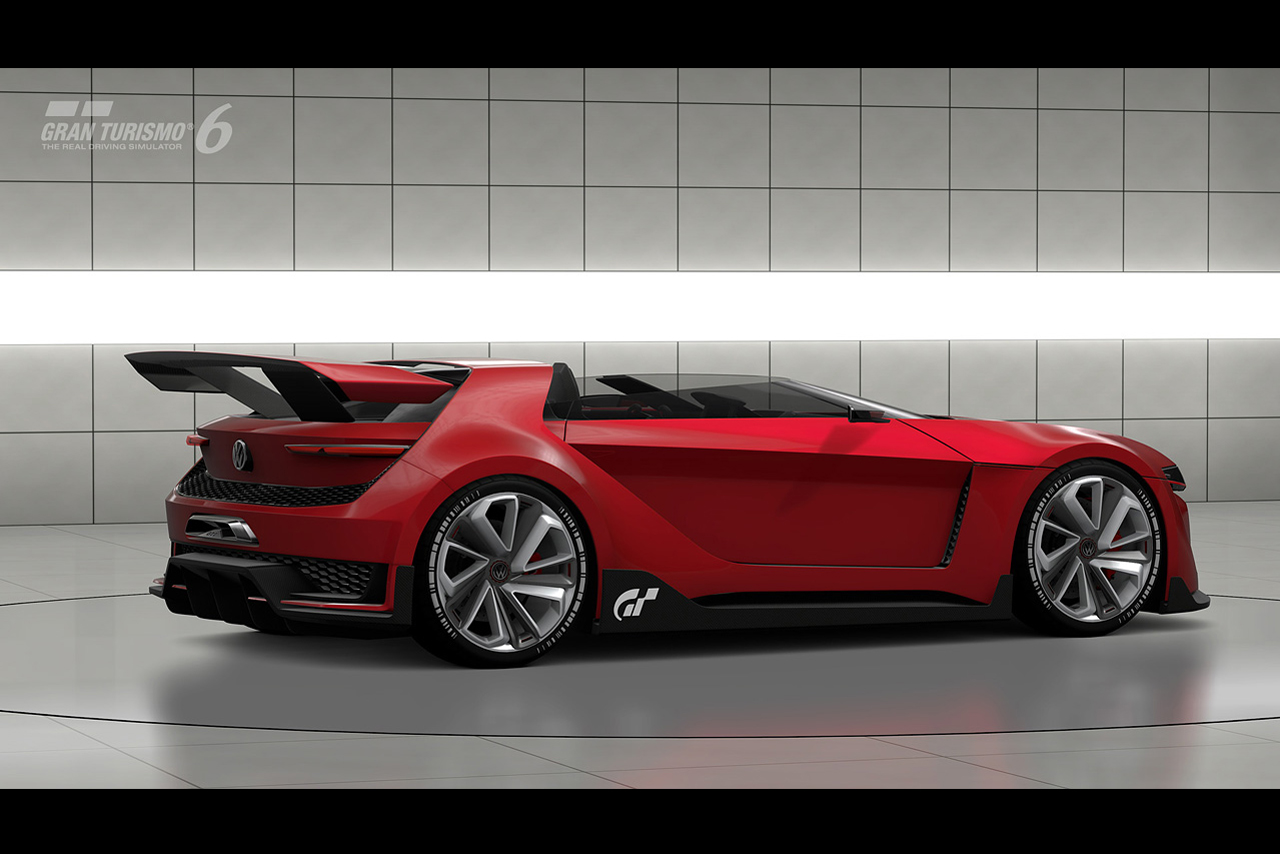 Volkswagen GTI Roadster Vision Gran Turismo для игры