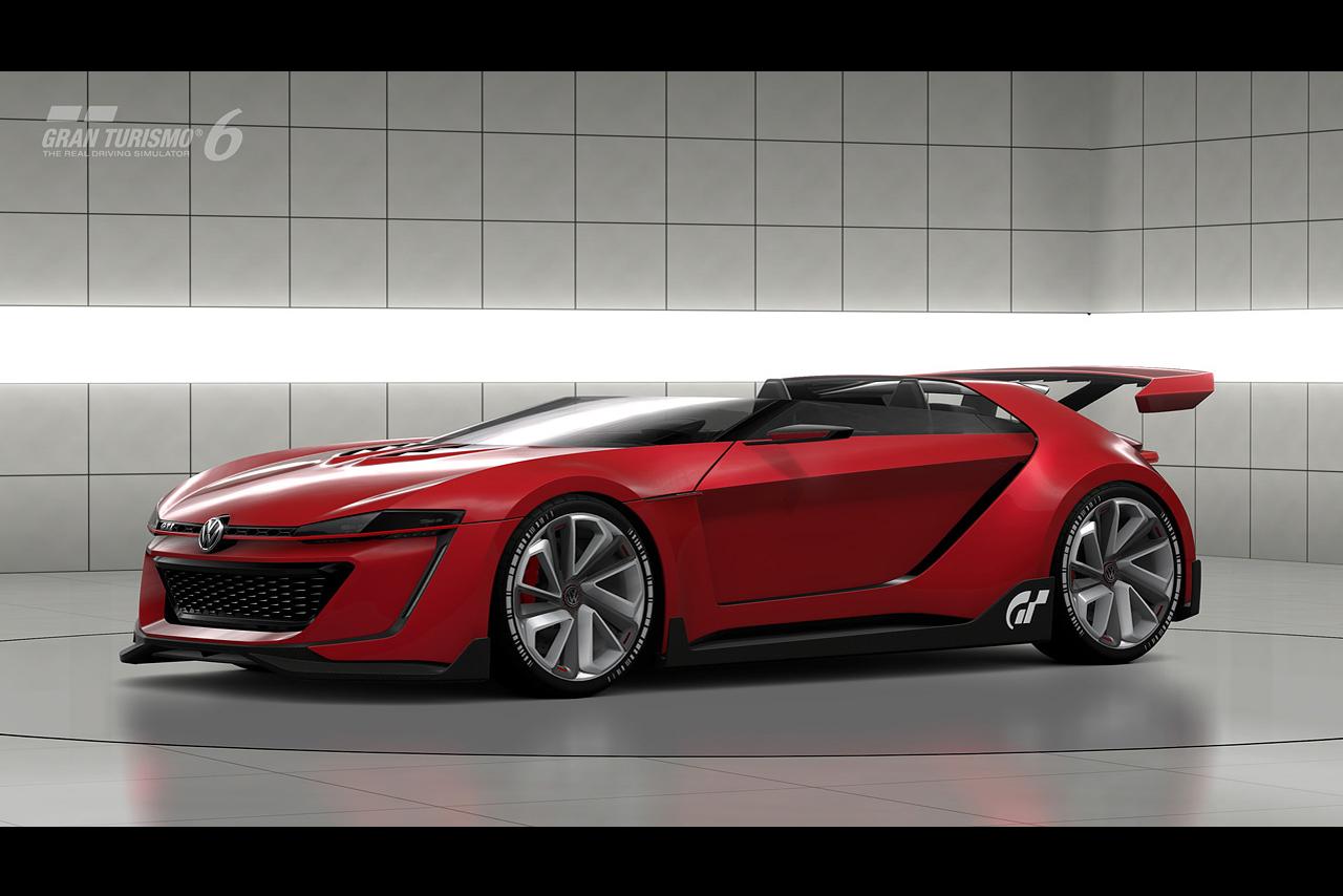 Суперкар Volkswagen GTI Roadster Vision Gran Turismo