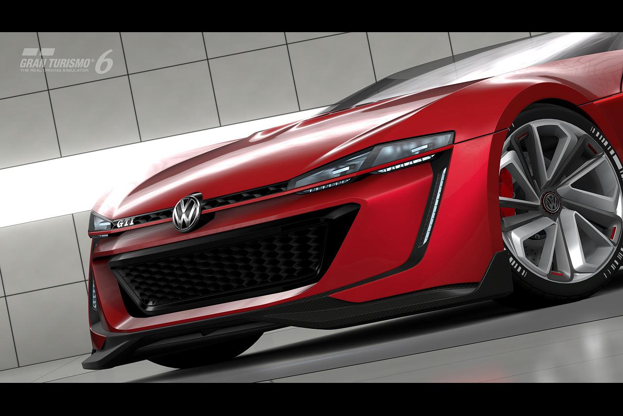Родстер Volkswagen GTI Roadster Vision Gran Turismo