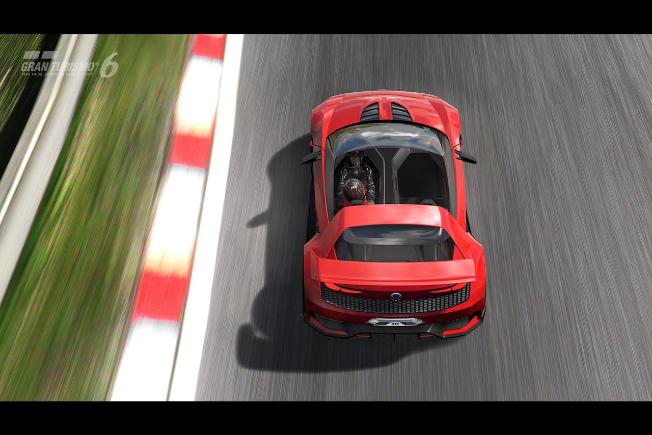 Дизайн Volkswagen GTI Roadster Vision Gran Turismo