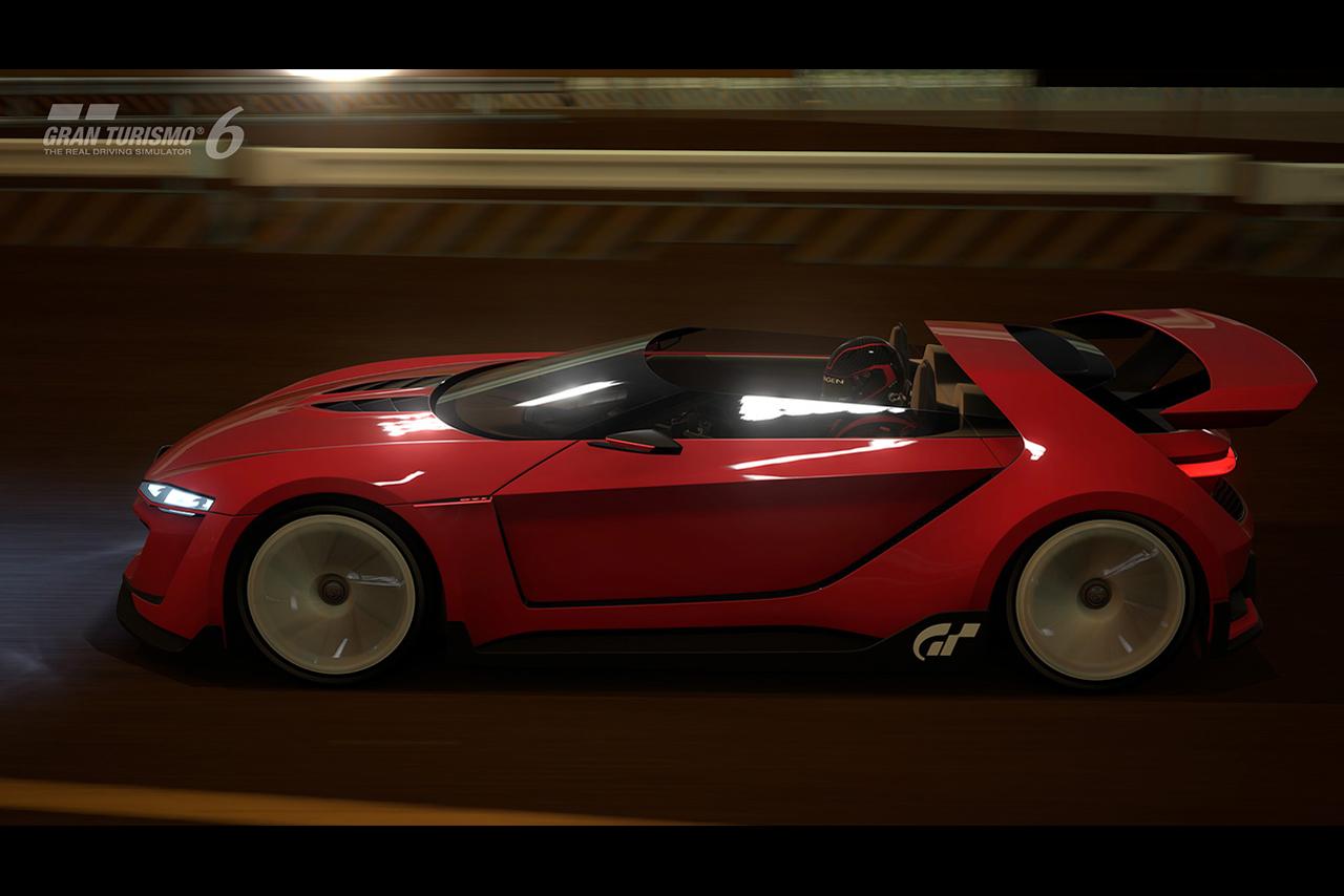 Скетч Volkswagen GTI Roadster Vision Gran Turismo