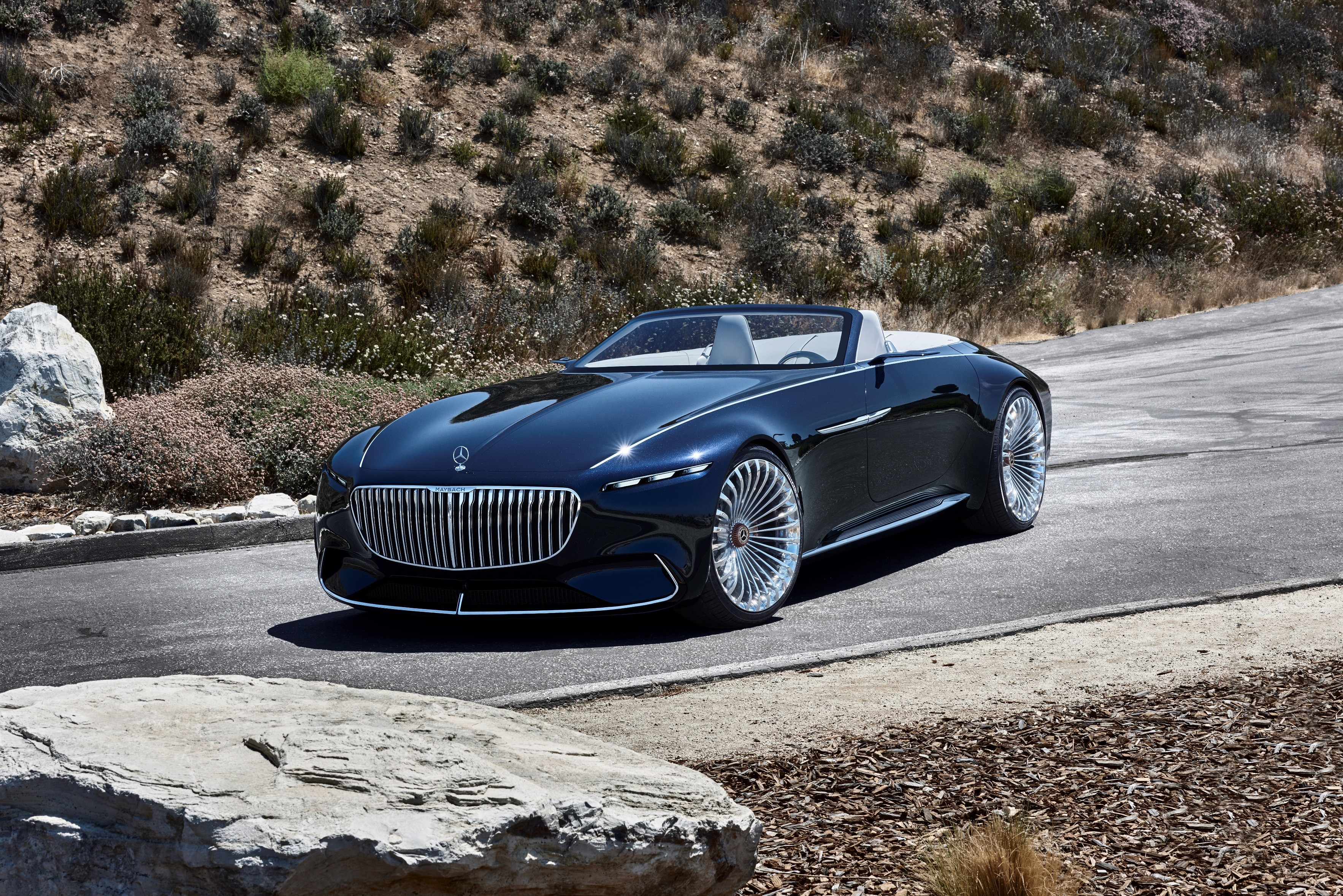 vision mercedes maybach 6 cabriolet is a showstopper at pebble beach autoevolution. Black Bedroom Furniture Sets. Home Design Ideas