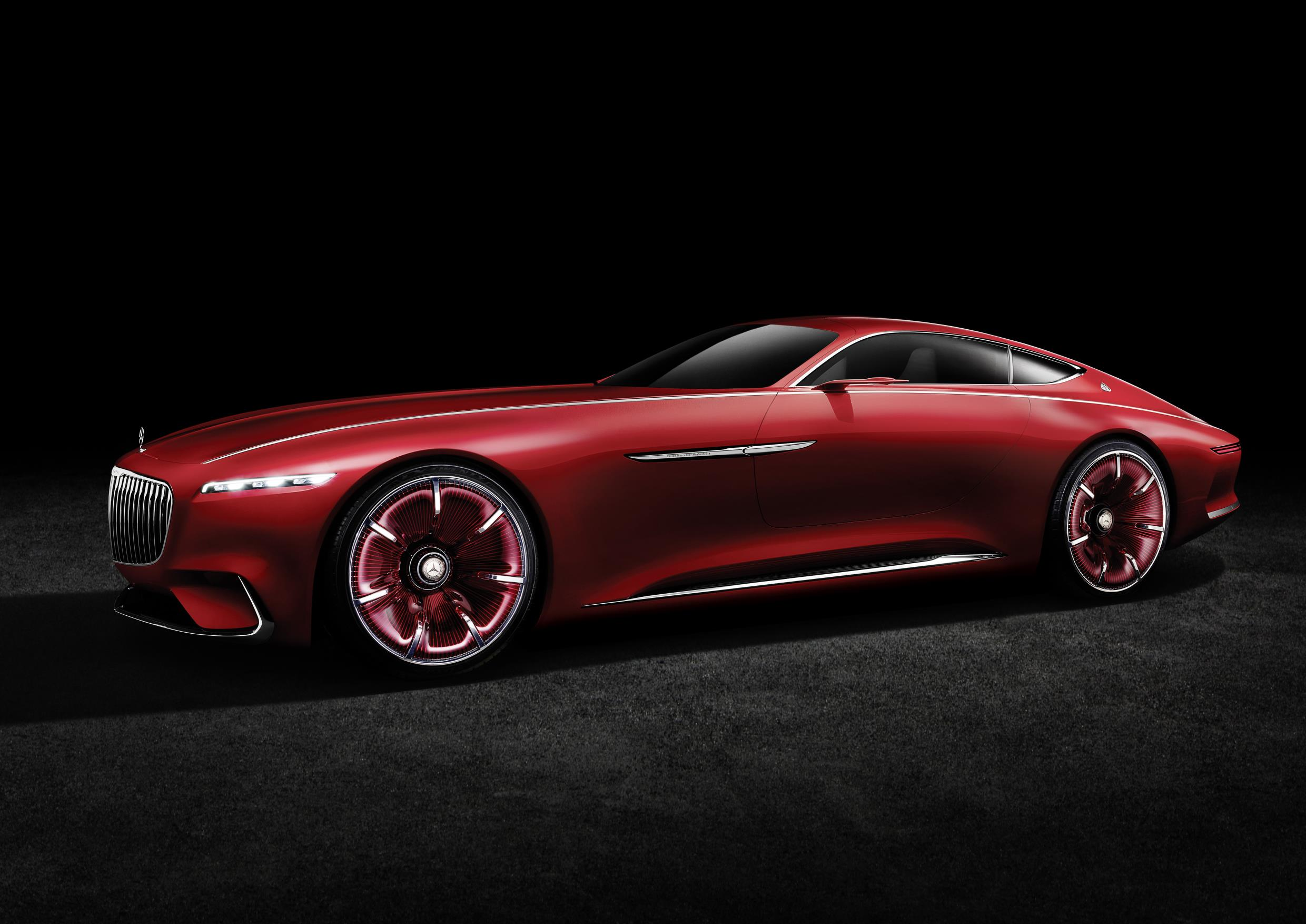 Vision mercedes maybach 6 electric vehicle concept is out for Mercedes benz vision statement