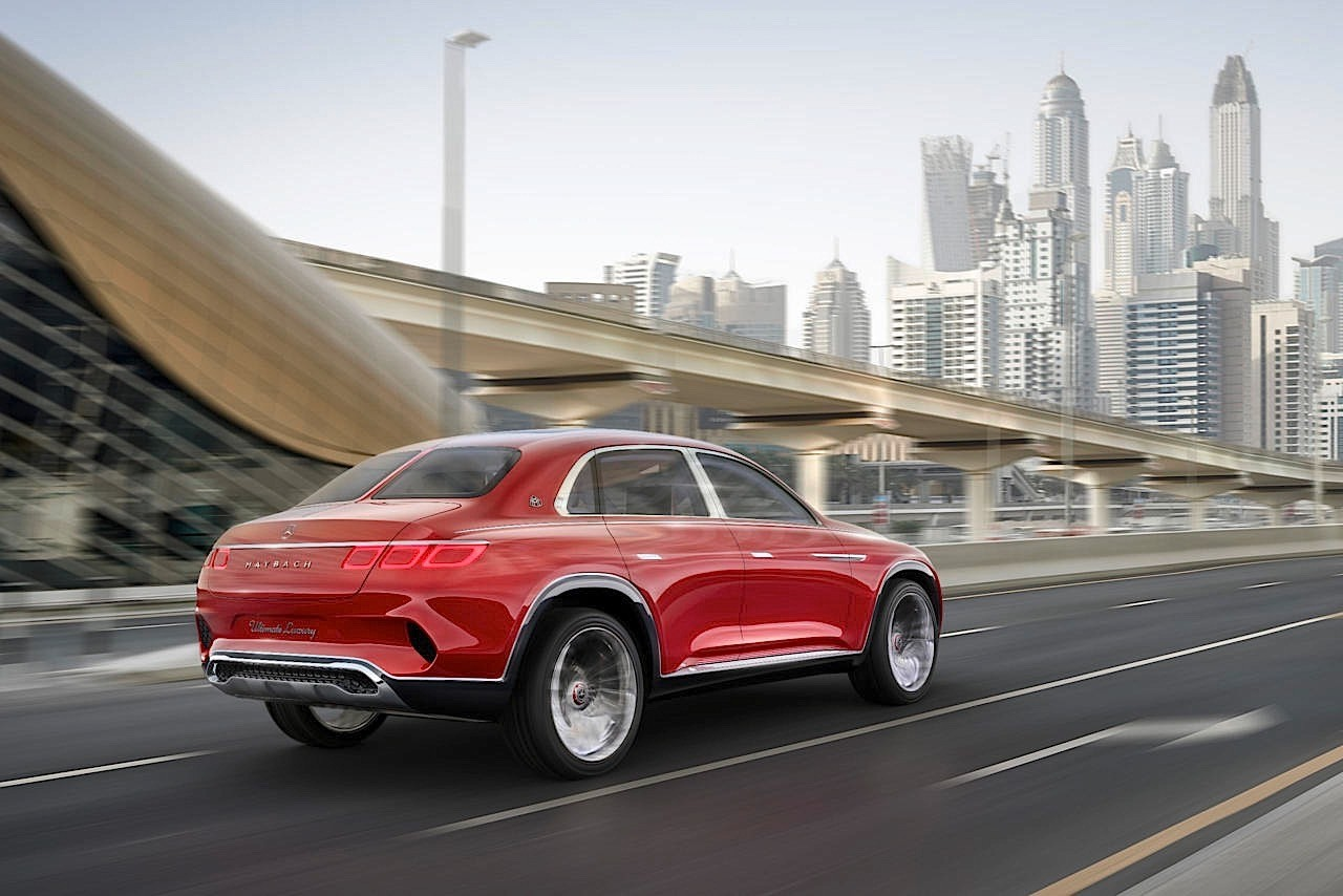 Vision Mercedes-Maybach Ultimate Luxury is a High-Riding ...