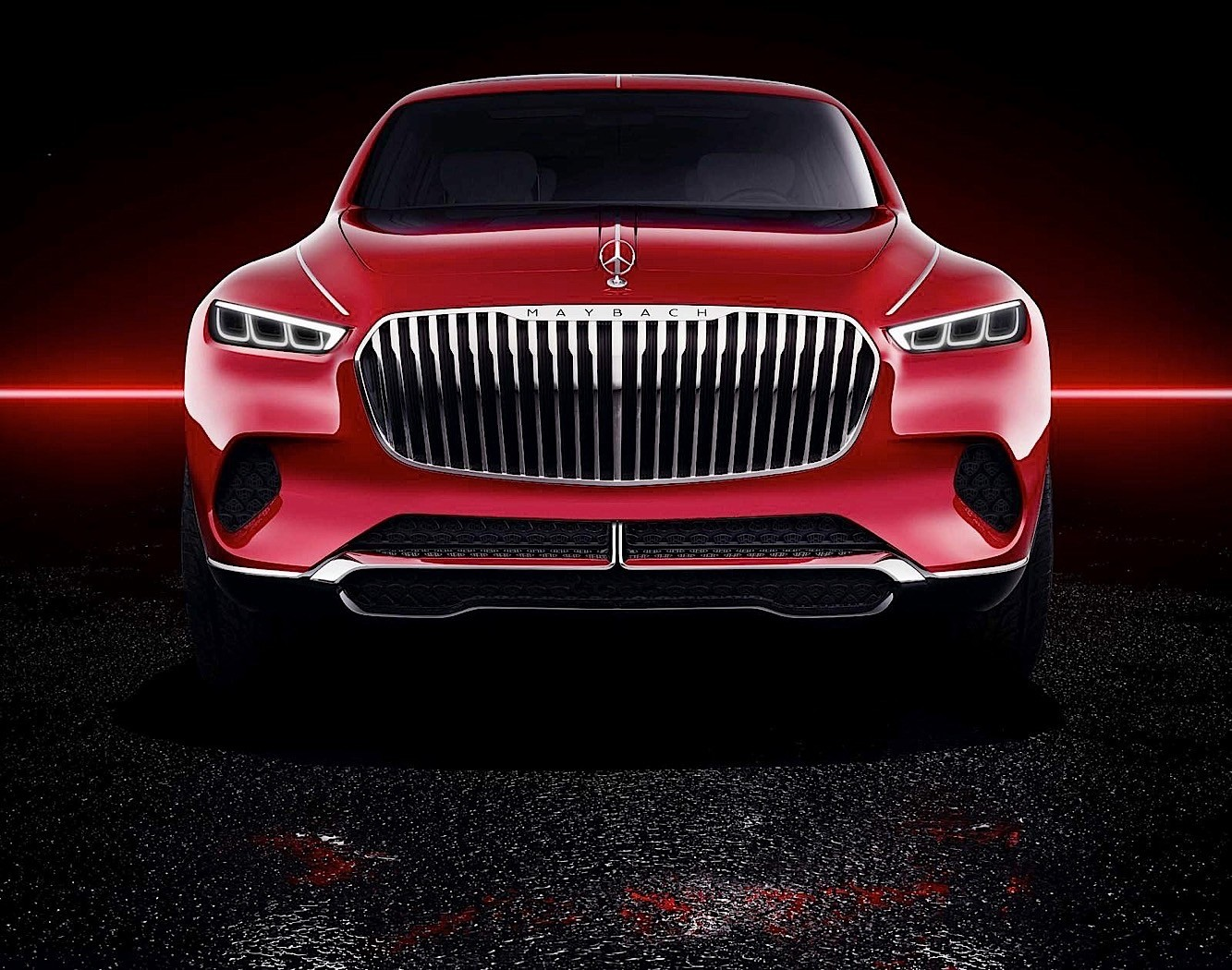 Vision Mercedes-Maybach Ultimate Luxury is a High-Riding Sedan After All - autoevolution