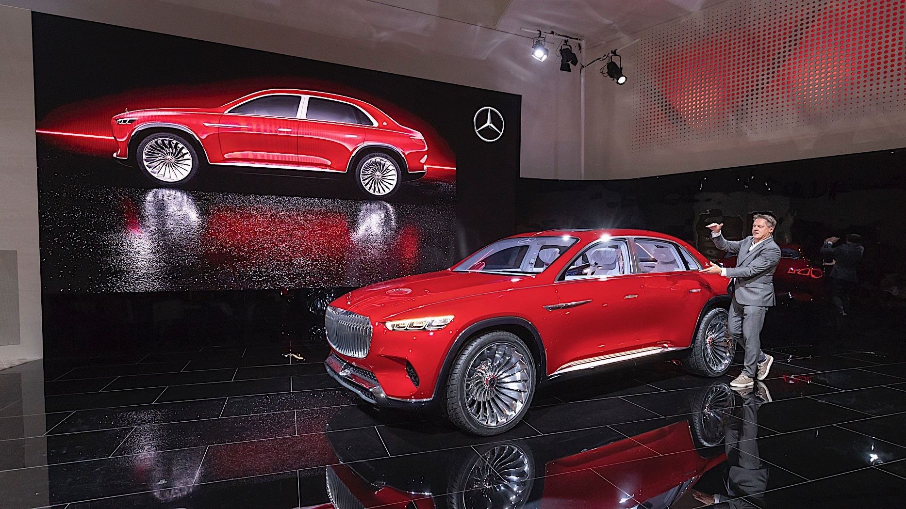 Vision Mercedes-Maybach Ultimate Luxury Stuns at Auto ...
