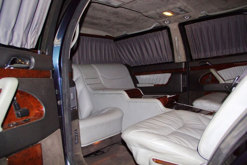 vladimir putin's mercedes s600 pullman guard shows up for sale on