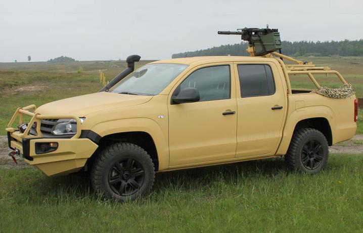 Volkswagen Amarok Becomes Military Vehicle - autoevolution
