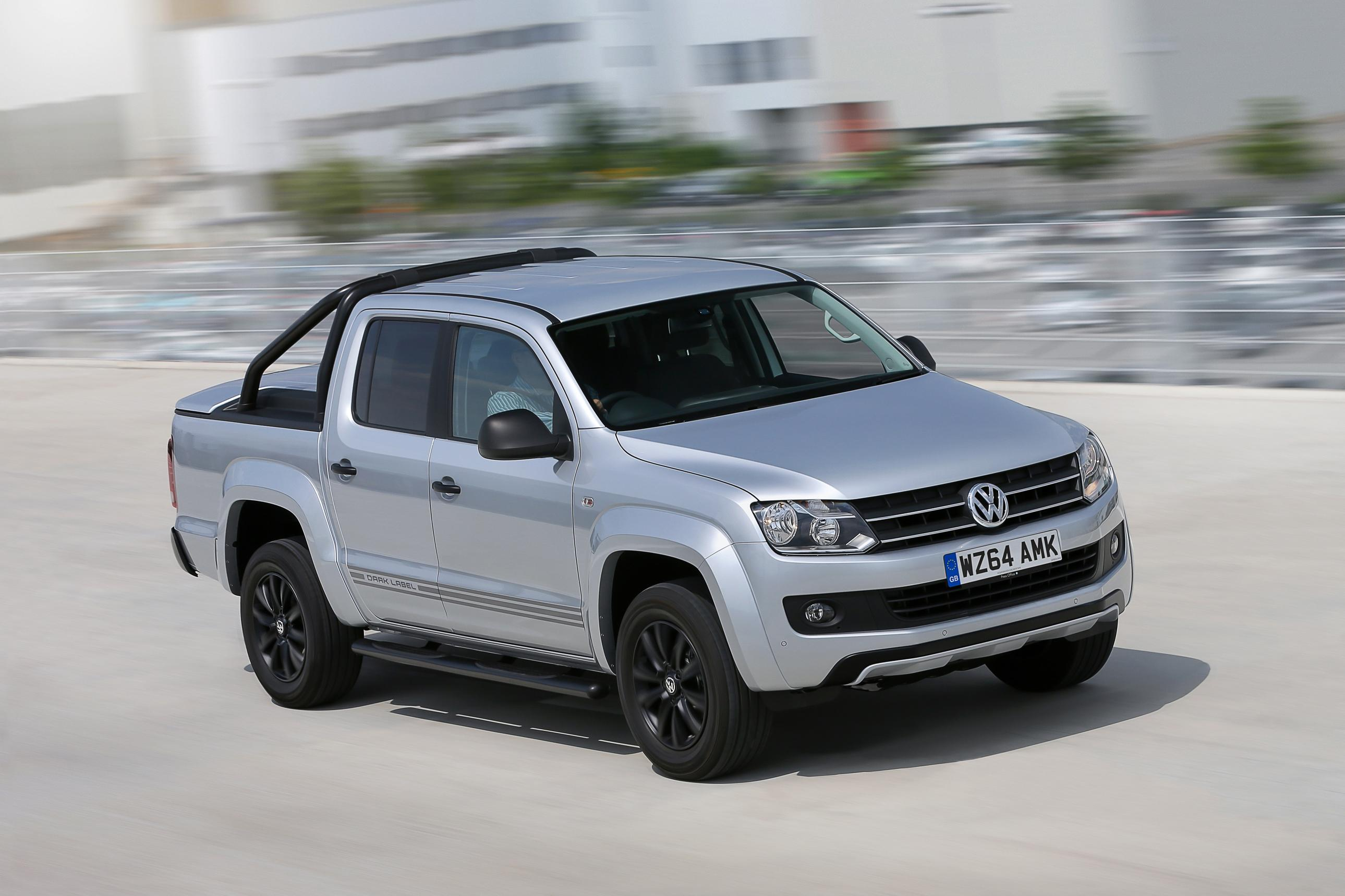 Фото | Пикап Volkswagen Amarok Dark Label. 2014 год