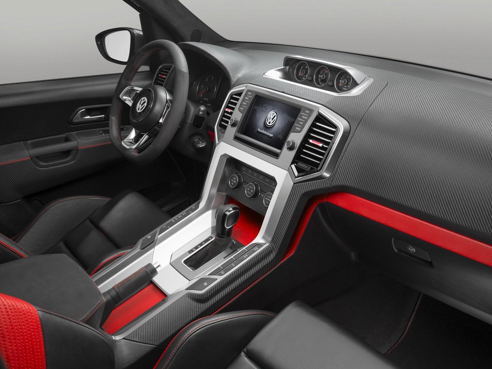 Volkswagen amarok r style concept first photos autoevolution
