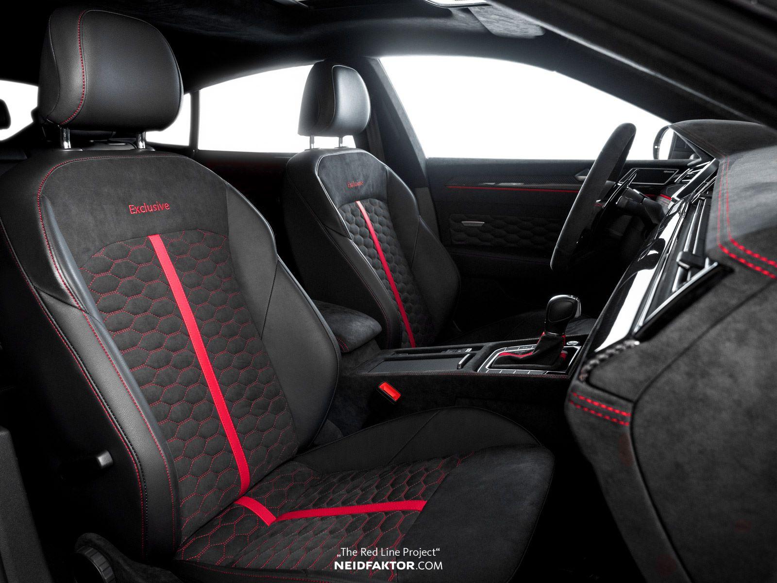 Volkswagen Arteon Gets €20,000 Custom Alcantara Interior ...