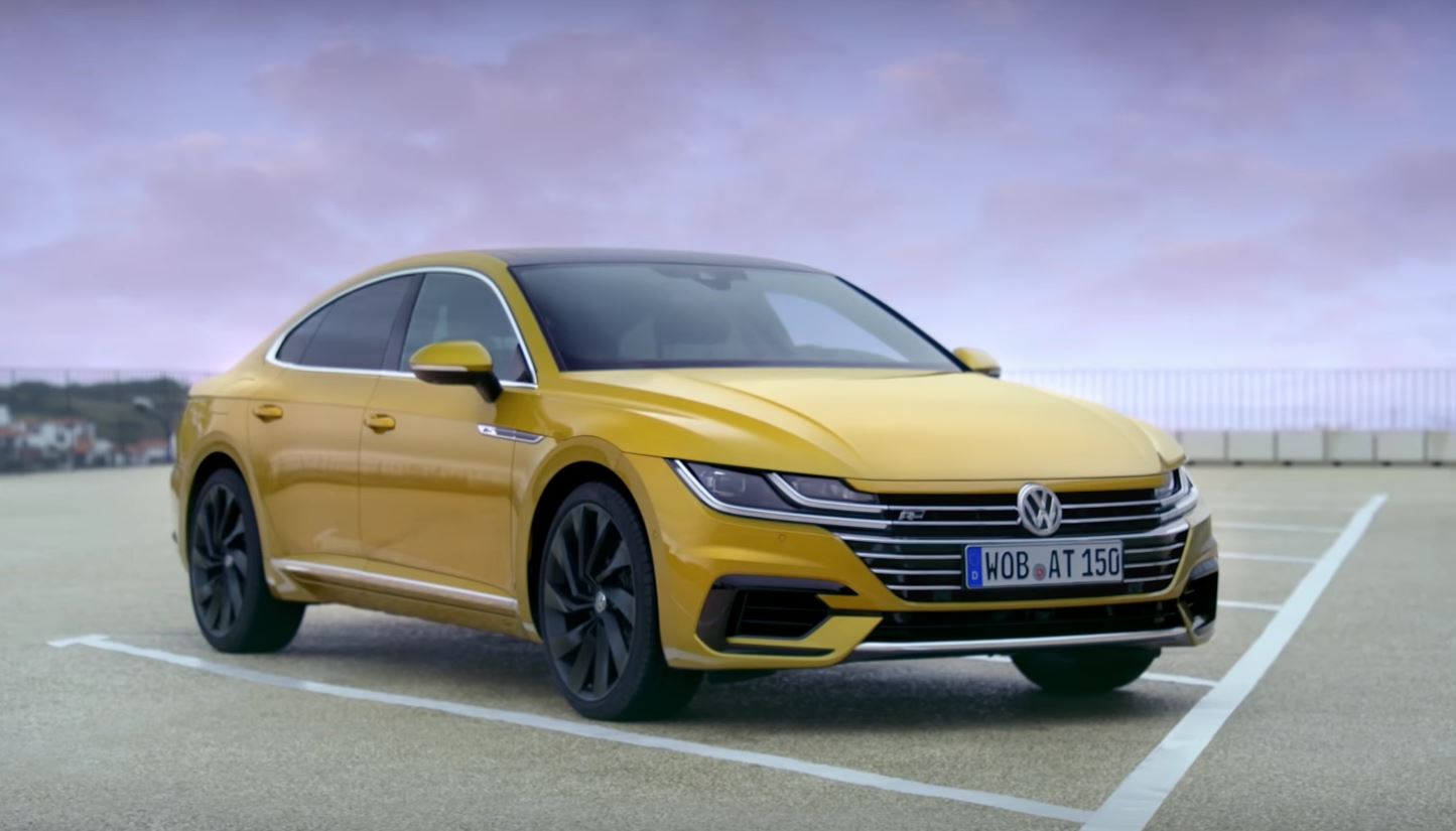 volkswagen arteon launch video shows features lets you enjoy the design autoevolution. Black Bedroom Furniture Sets. Home Design Ideas