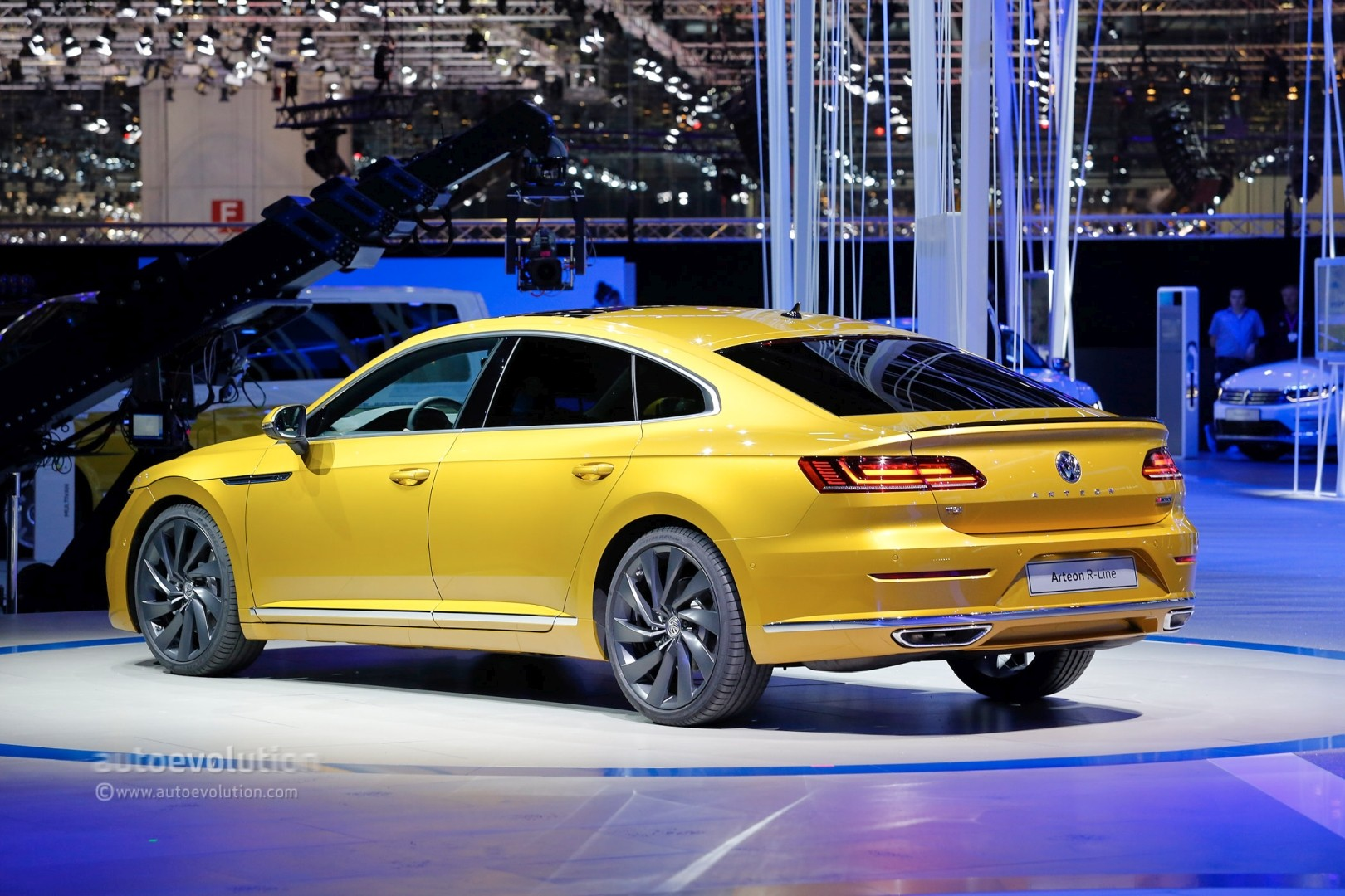 Volkswagen Arteon R Said To Pack Over Hp From Vr