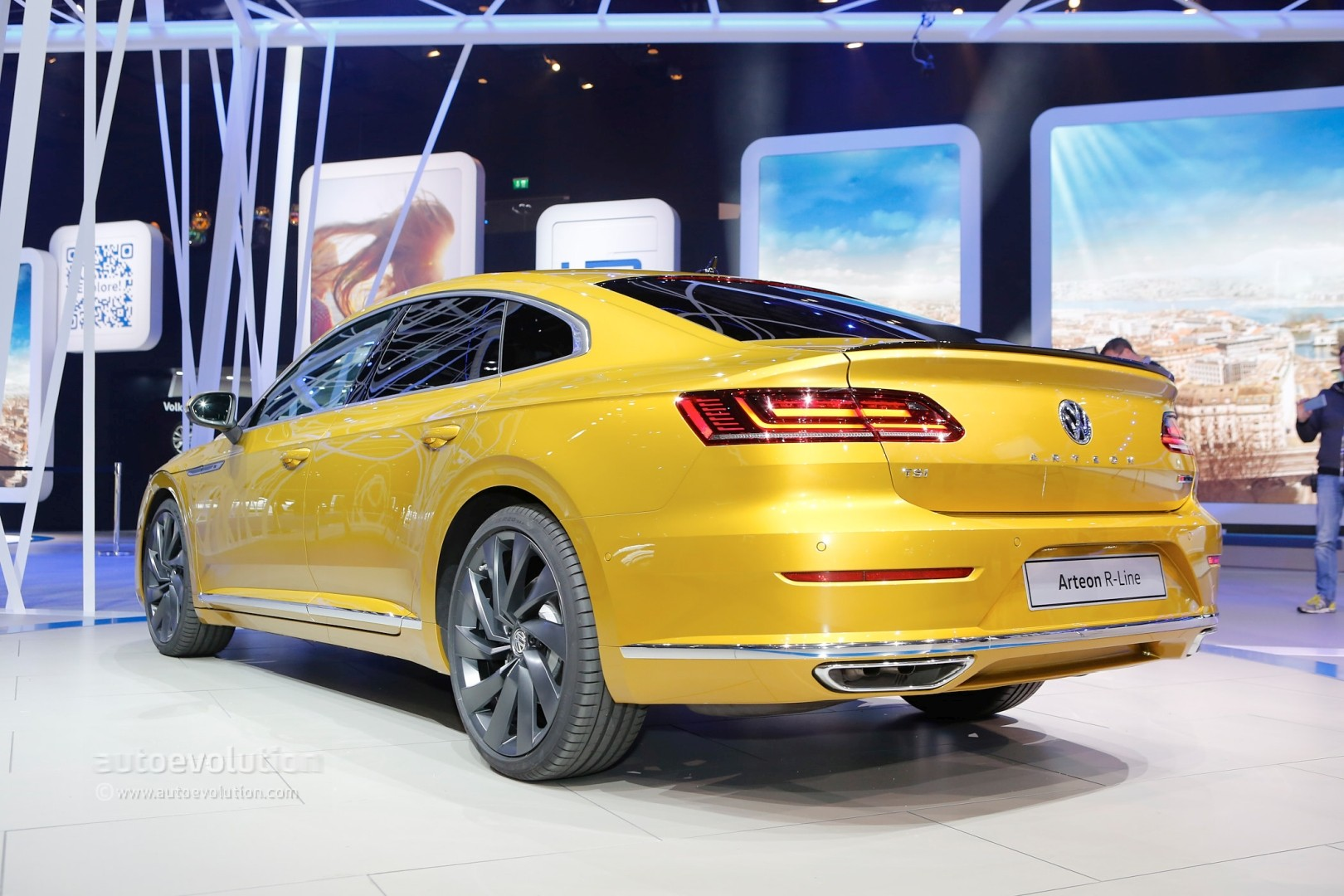 Volkswagen Arteon R Said to Pack Over 400 HP from VR6 - autoevolution