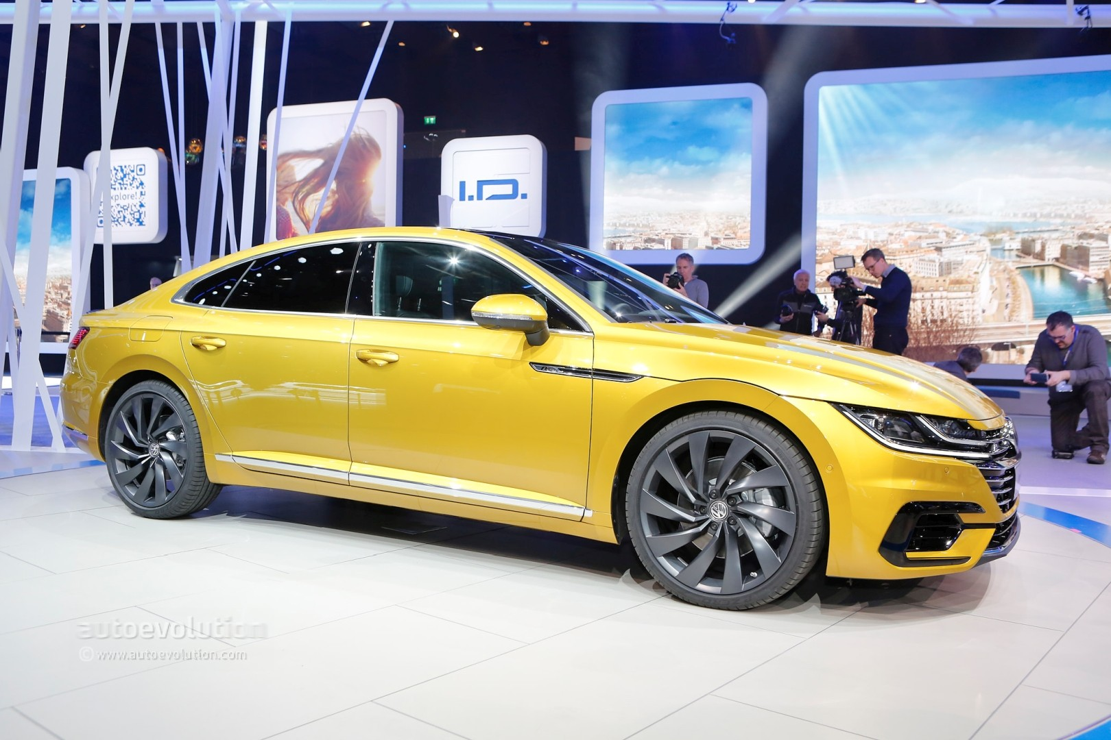volkswagen arteon r said to pack over 400 hp from vr6 autoevolution. Black Bedroom Furniture Sets. Home Design Ideas