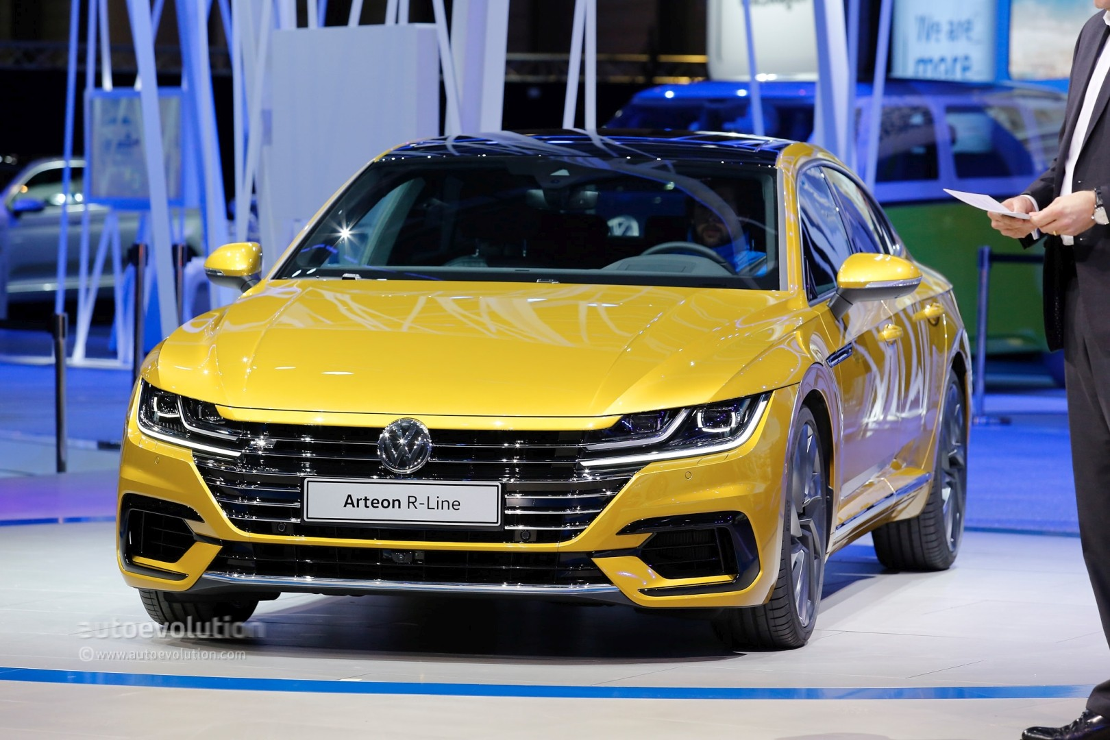 volkswagen arteon r said to pack over 400 hp from vr6. Black Bedroom Furniture Sets. Home Design Ideas