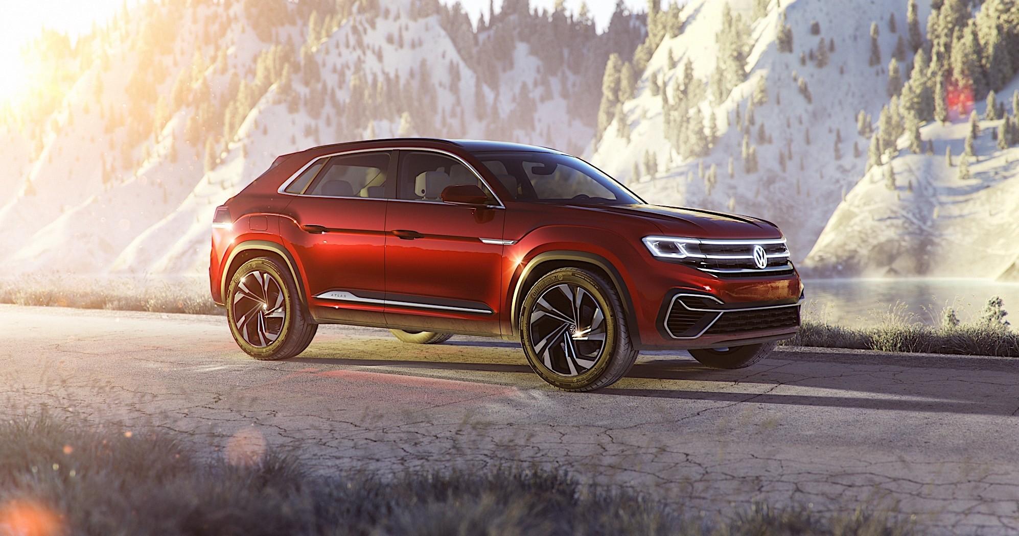 Volkswagen Touareg 2019 >> Volkswagen Atlas Cross Sport Concept Rocks SUV Segment in NY - autoevolution