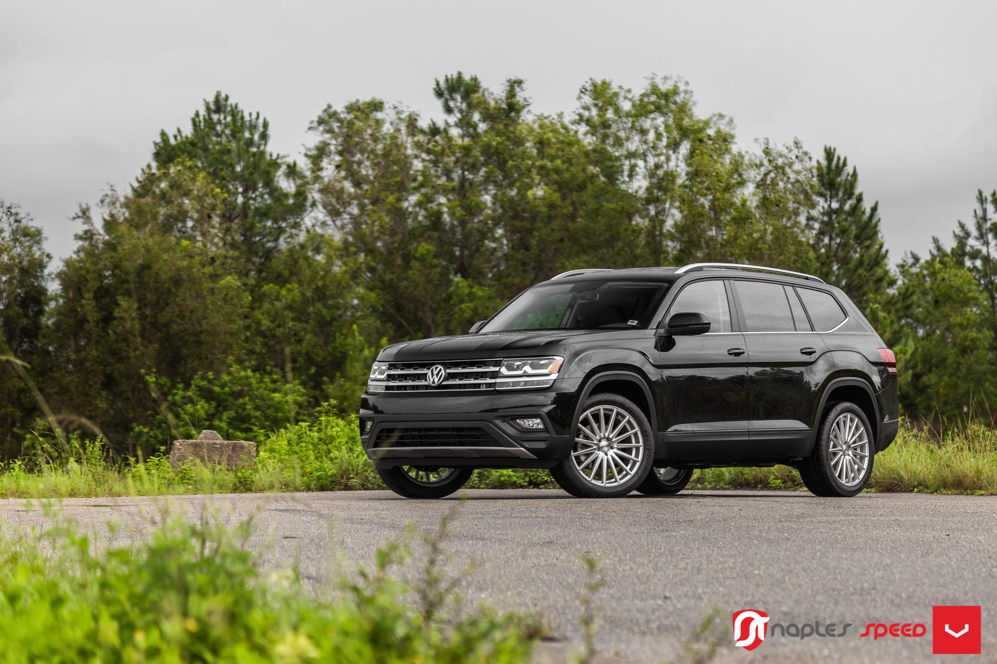 Vw Of America >> Volkswagen Atlas Gets Vossen Wheels in First Mild Tuning Project - autoevolution