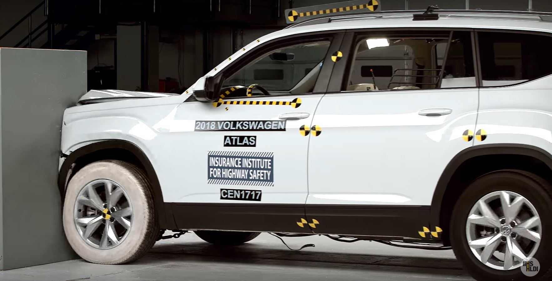 Volkswagen Atlas Misses IIHS Top Safety Pick Plus, But We Enjoyed the Crash Test - autoevolution