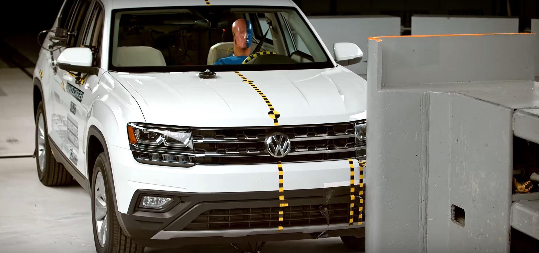 Volkswagen Atlas Misses IIHS Top Safety Pick Plus, But We Enjoyed the Crash Test - autoevolution