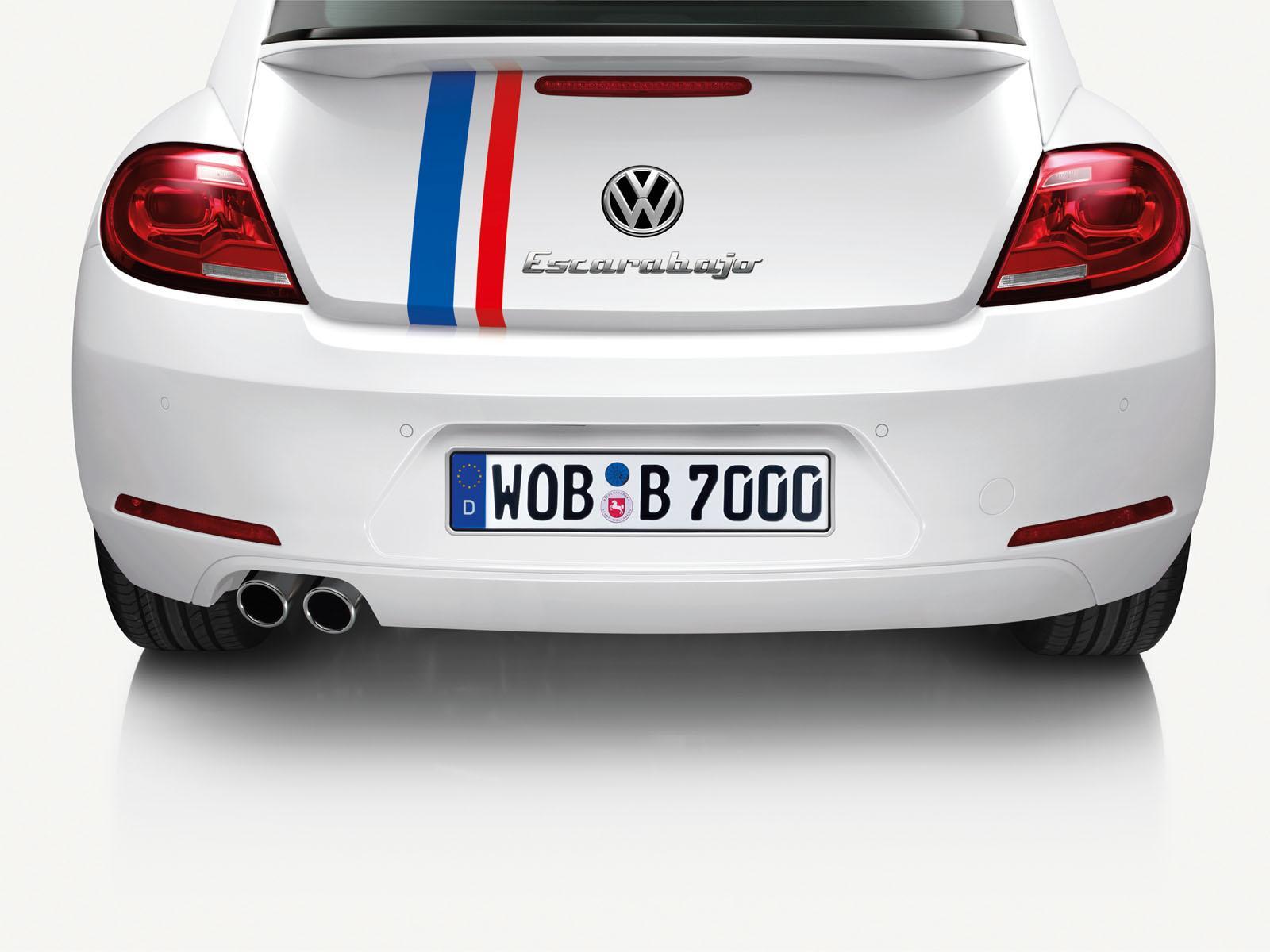 Volkswagen Beetle 53 Edition Inspired by Herbie - autoevolution