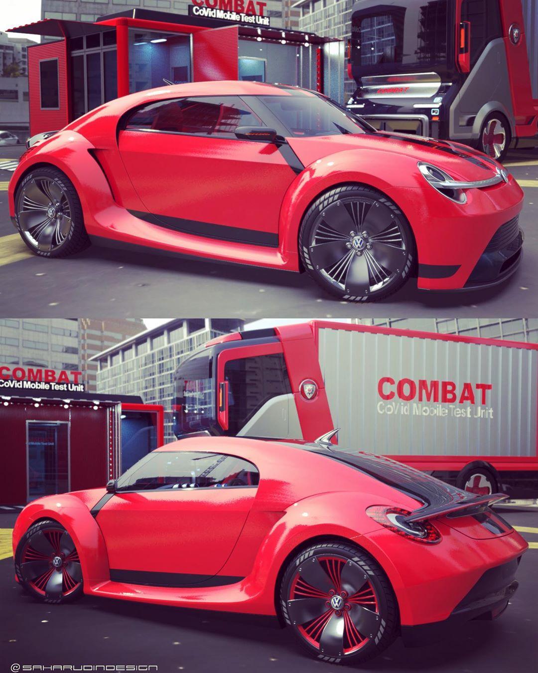 Volkswagen Beetle Electric Concept Looks Perfect Autoevolution