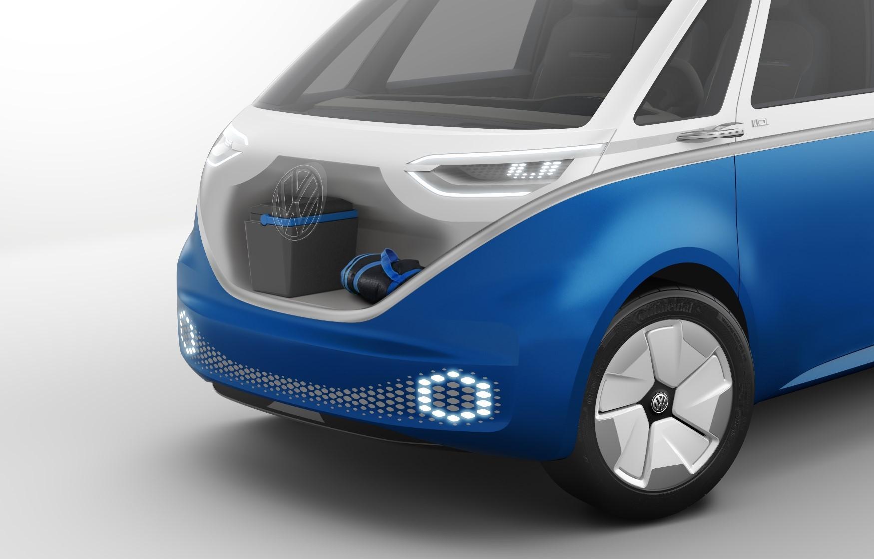 Volkswagen Bringing I.D. Buzz Cargo Concept To 2018 Los ...