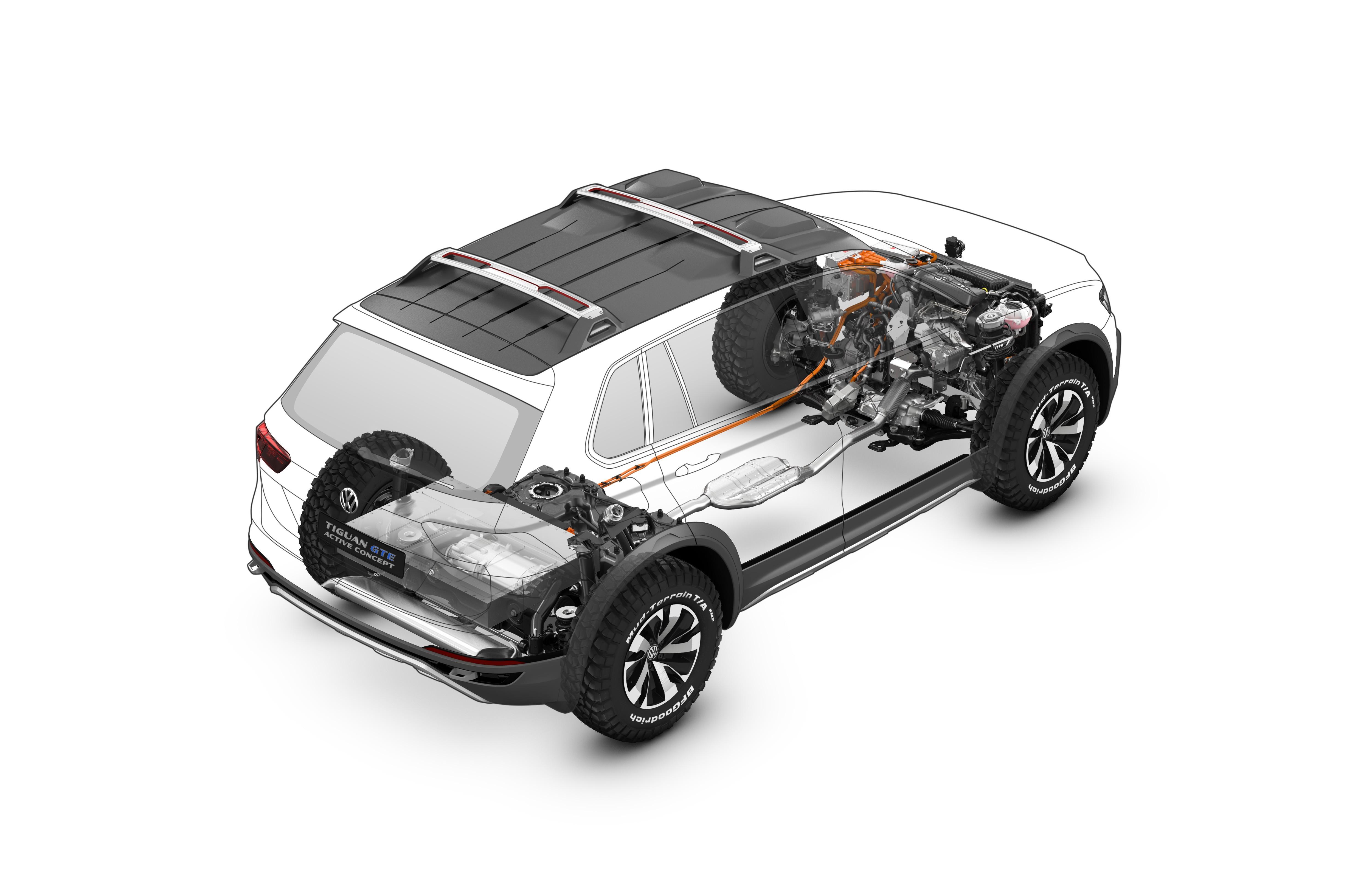 Volkswagen tiguan gte active concept volkswagen tiguan gte active concept