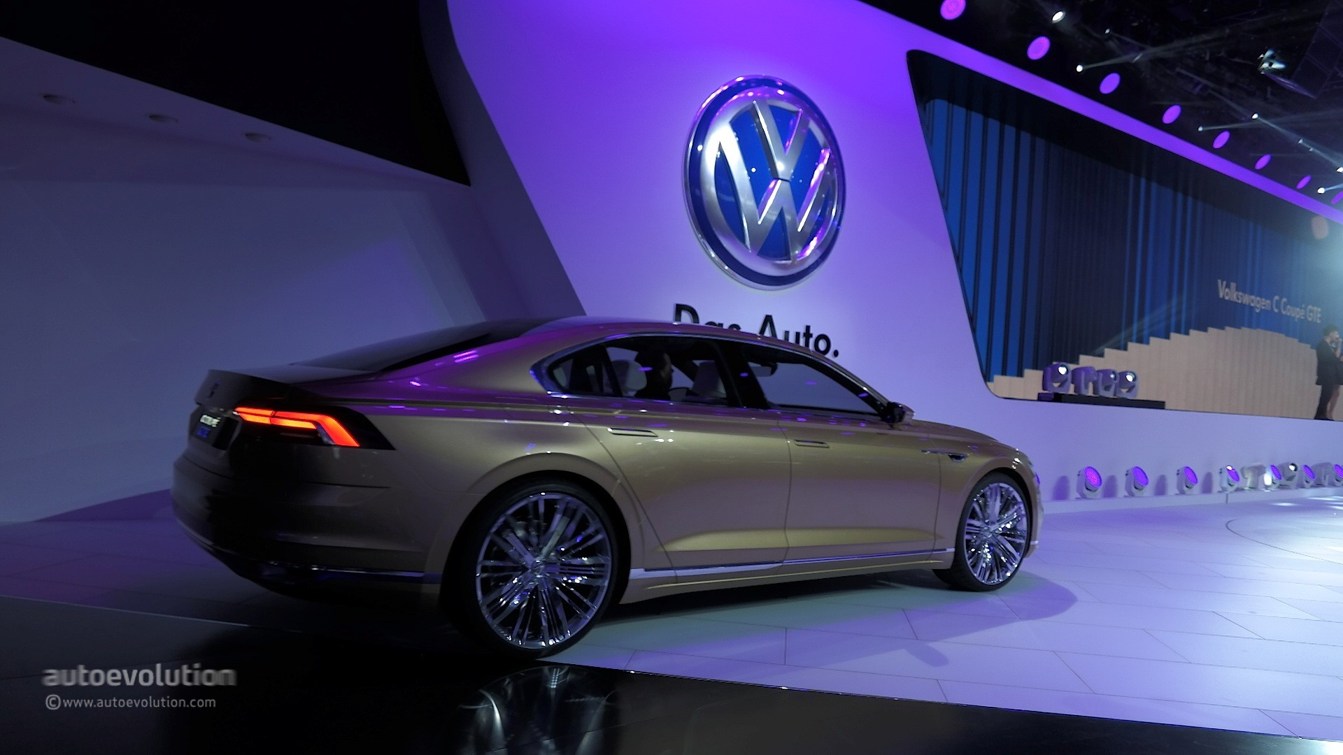 Volkswagen c coupe gte previews new sub phaeton sedan at shanghai 2015 autoevolution
