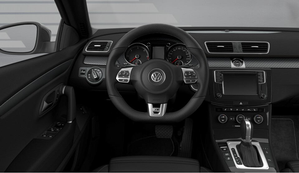 Volkswagen CC Dynamic Black Special Edition Launched in Germany - autoevolution