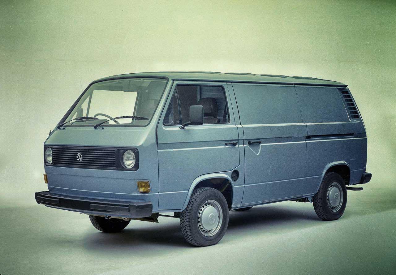 Volkswagen Celebrates 60 Years Of The Transporter Van In