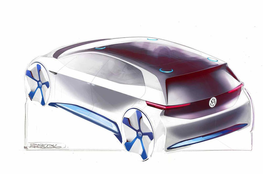 Volkswagen's Revolutionary Electric Vehicle Concept ...
