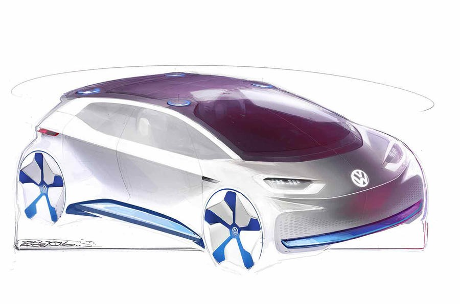 Volkswagen's Revolutionary Electric Vehicle Concept Unveiled By