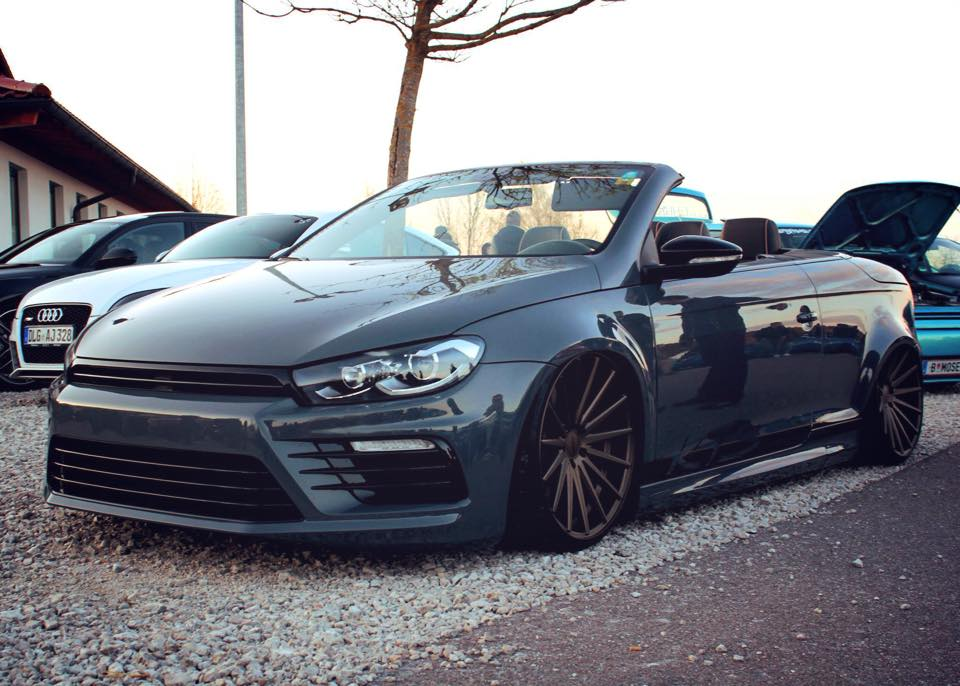 Volkswagen Eos with Scirocco Front and R36 Engine Coming to Worthersee 2k15 - autoevolution