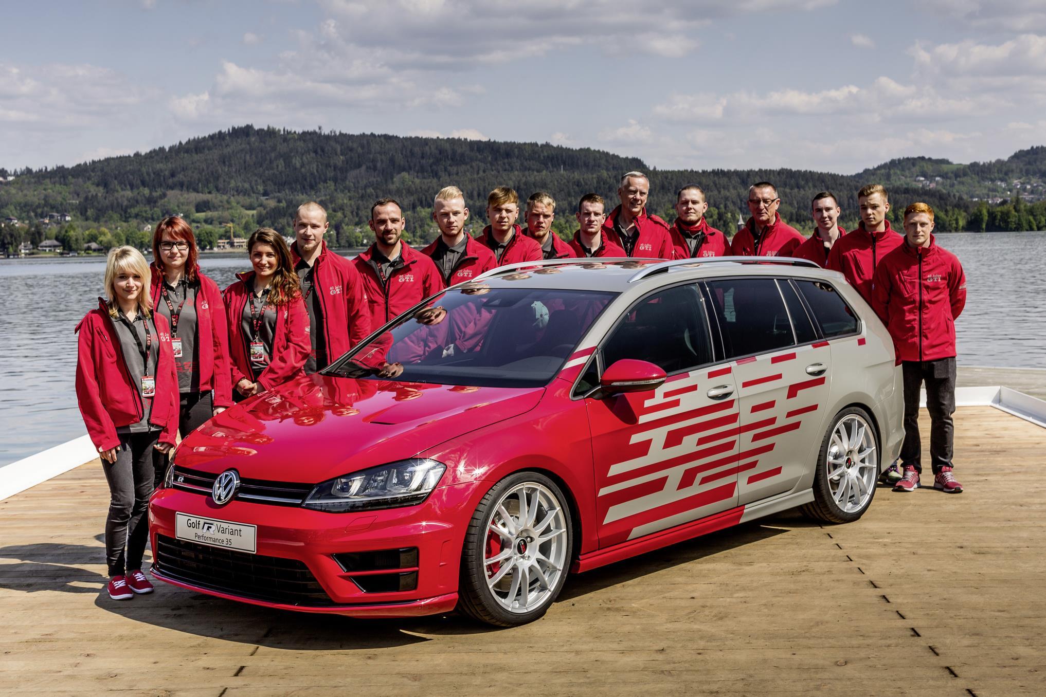 Volkswagen Apprentices Develop 400 HP Golf for 2016 Worthersee