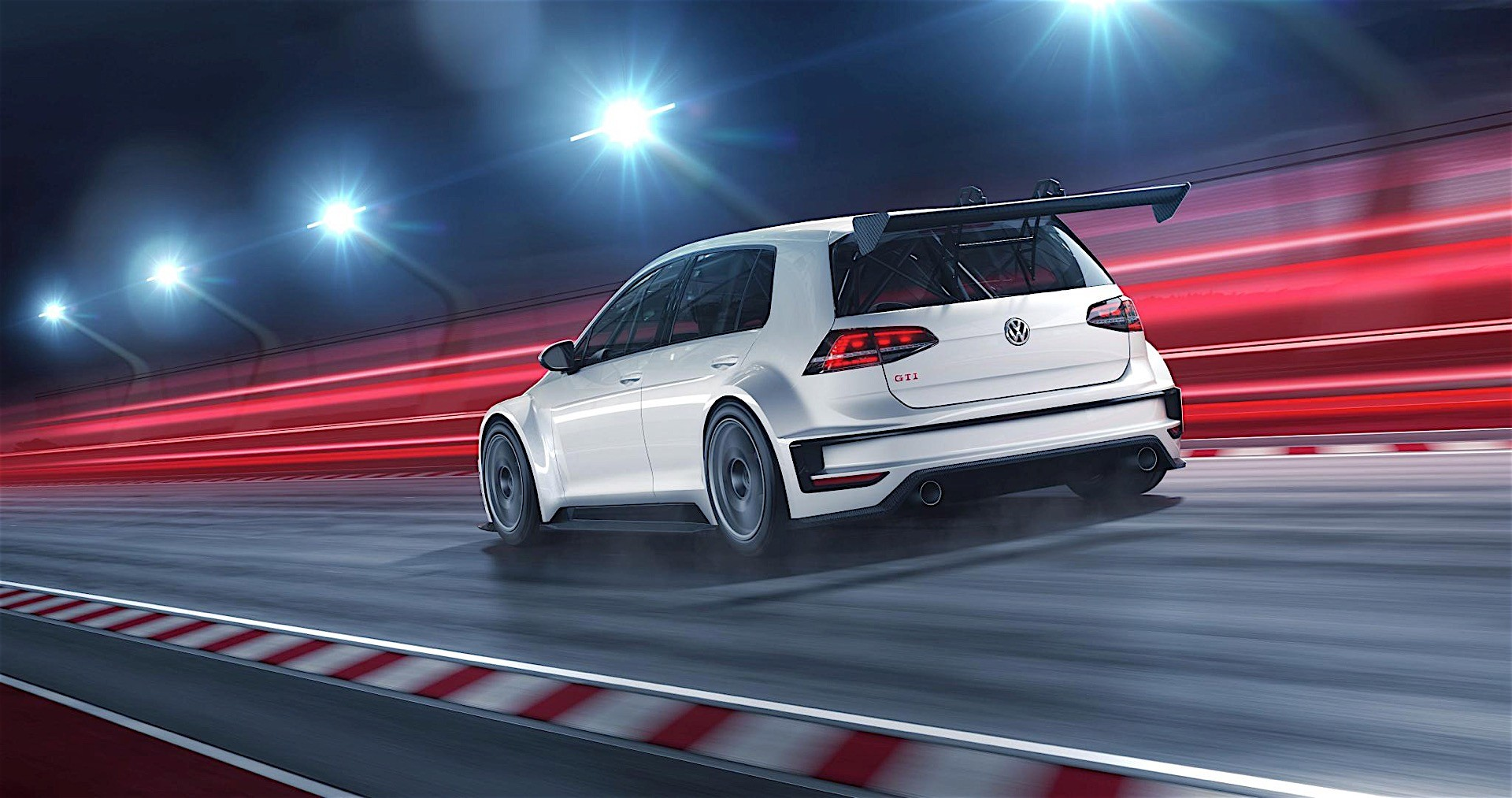 Volkswagen Golf GTI TCR: 330 HP for the Racing Version of the GTI Clubsport - autoevolution