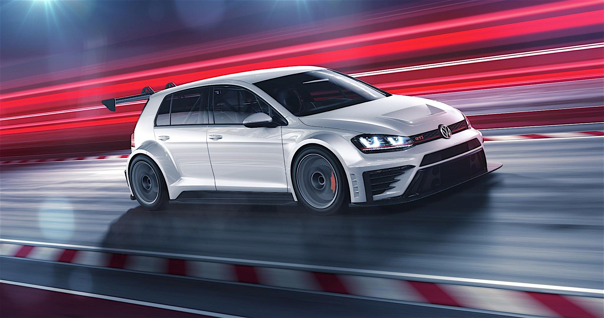 Volkswagen Golf GTI TCR 330 HP for the Racing Version of the GTI