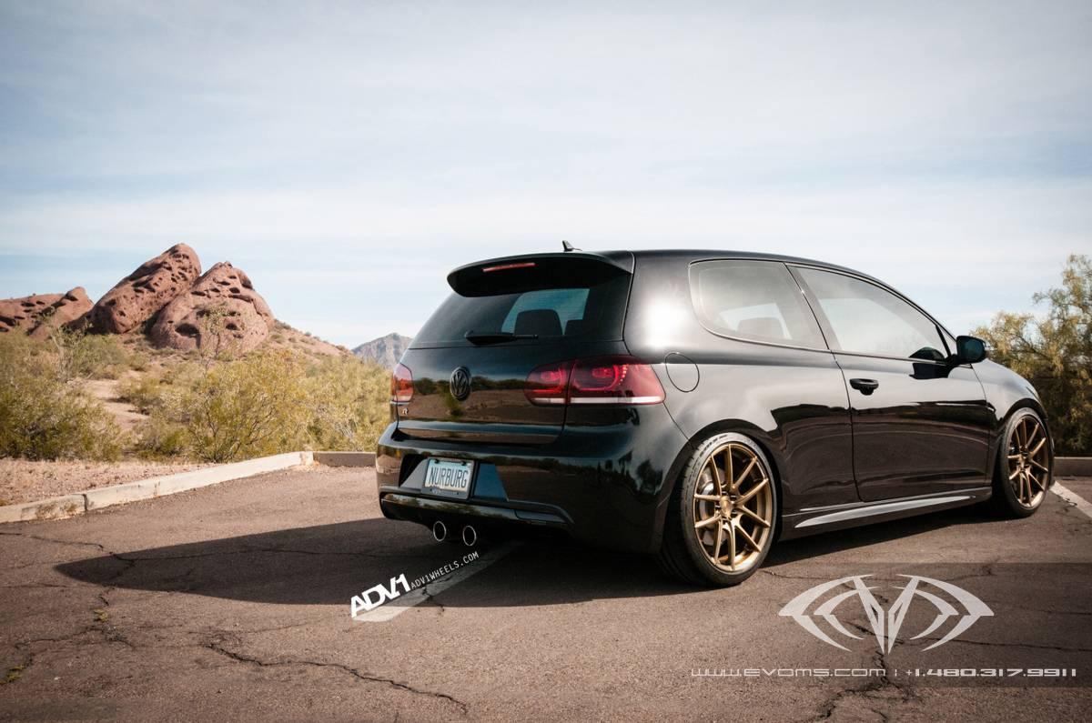 Volkswagen Golf R Gets New Stance On Adv 1 Wheels