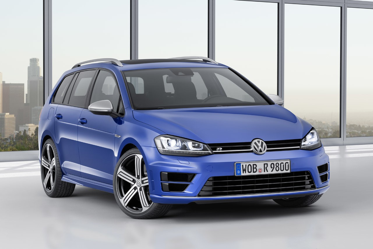 Спортивный универсал Volkswagen Golf R Variant