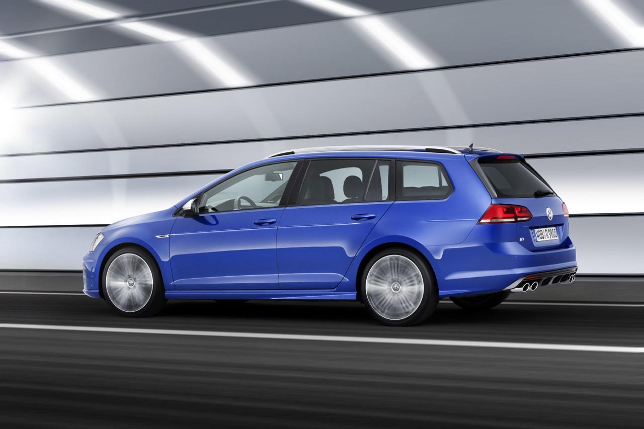 Горячий универсал Volkswagen Golf R Variant